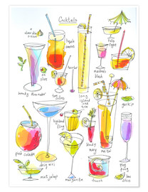 Premium poster  Cocktails - Maxwell
