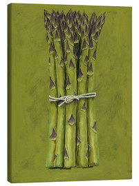 Canvas print  Asparagus bunch - Brian James