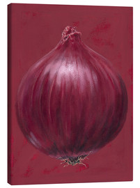 Canvas print  Red onion - Brian James