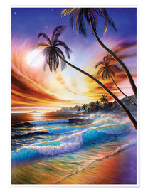 Premium poster Tropical beach