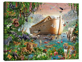 Canvas print  Noah's Ark - Adrian Chesterman