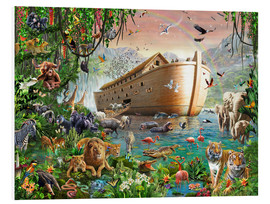 Foam board print  Noah's Ark - Adrian Chesterman