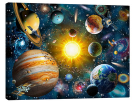 Canvas print  Our Solar System - Adrian Chesterman