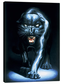 Canvas print  Black Panther - Adrian Rigby