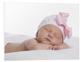 Foam board print  Newborn sleeping - Eva Freyss
