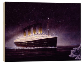 Wood  RMS titanic night - Francis Mastrangelo