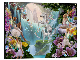 Alu-Dibond  Unicorn waterfall - Garry Walton