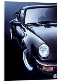 Acrylic glass  Black Porsche turbo - Gavin Macloud