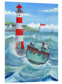 Foam board print  Lighthouse - Peter Adderley