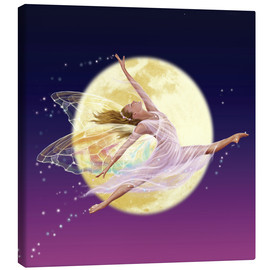 Canvas print  Moon fairy - Garry Walton