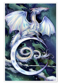 Premium poster  Touch the moon - Jody Bergsma