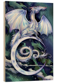 Wood print  Touch the moon - Jody Bergsma