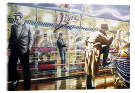 Acrylic glass  Diner - Adrian Chesterman