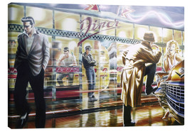 Canvas print  Diner - Adrian Chesterman