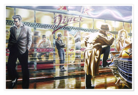 Poster  Diner - Adrian Chesterman