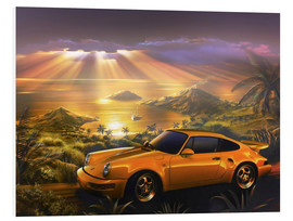 Forex  Porsche at the beach - Adrian Chesterman