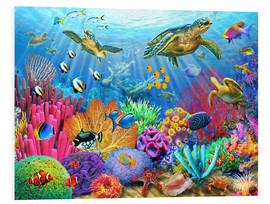 Forex  Turtle Coral Reef - Adrian Chesterman