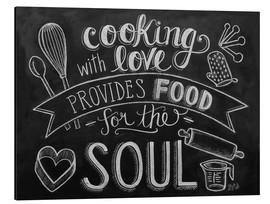 Aluminium print  Cooking With Love - Lily & Val