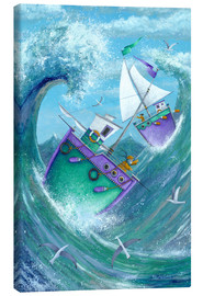 Canvas print  Stormy Weather - Peter Adderley