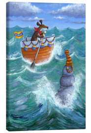 Canvas print  To The Rescue - Peter Adderley