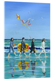 Acrylic glass  Abbey Road Beach - Peter Adderley