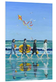 Foam board print  Abbey Road Beach - Peter Adderley