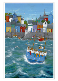 Premium poster  Quayside - Peter Adderley