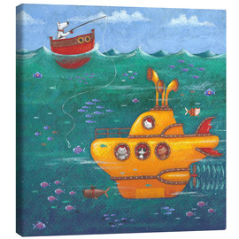 Canvas  Yellow Submarine - Peter Adderley