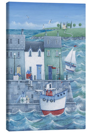 Canvas print  Harbour gifts - Peter Adderley