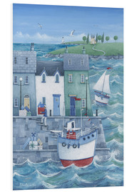 Foam board print  Harbour gifts - Peter Adderley
