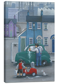 Canvas print  Like Father like Son - Peter Adderley