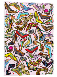Foam board print  Shoe Crazy - Lewis T. Johnson