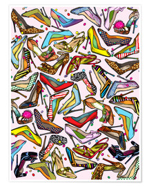 Premium poster  Shoe Crazy - Lewis T. Johnson