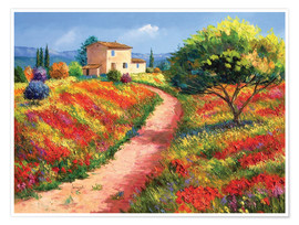 Poster  Provencal House - Jean-Marc Janiaczyk