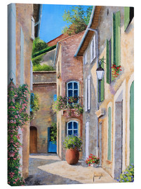 Canvas print  Sunny backyard - Jean-Marc Janiaczyk