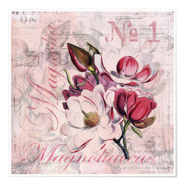 Poster  Magnolia - Andrea Haase