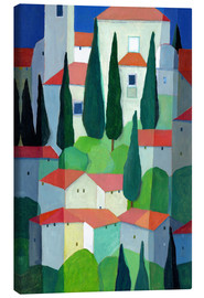 Canvas print  Tuscan Village - Eugen Stross
