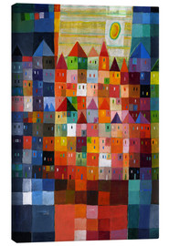 Canvas print  Box town at noon - Eugen Stross