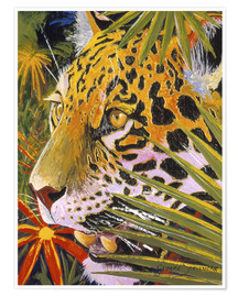 Premium poster Jaguar jungle