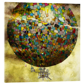 Acrylic glass  Up, up and away - Colin Thompson