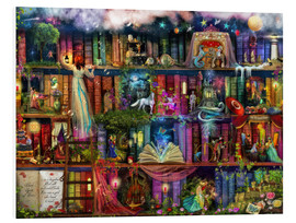 Foam board print  Treasure hunt book shelf - Aimee Stewart