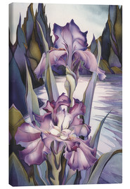 Canvas  Lady of the lake - Jody Bergsma