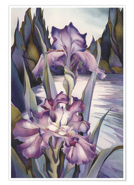 Poster  Lady of the lake - Jody Bergsma