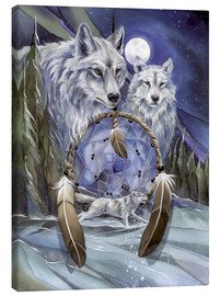 Canvas  Wolves - Jody Bergsma
