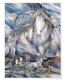 Poster  The dream creates the journey - Jody Bergsma