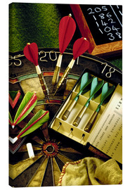 Canvas print  Darts - Simon Kayne