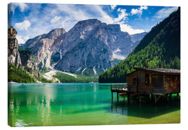 Canvas print  Lake Prags, South Tyrol - Reiner Würz RWFotoArt