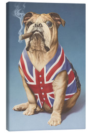 Canvas  British bulldog - Andrew Farley