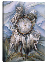 Canvas  Dream catcher - Jody Bergsma
