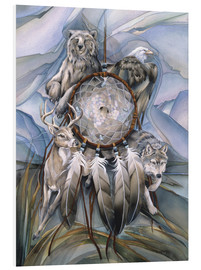 Foam board print  Dream catcher - Jody Bergsma